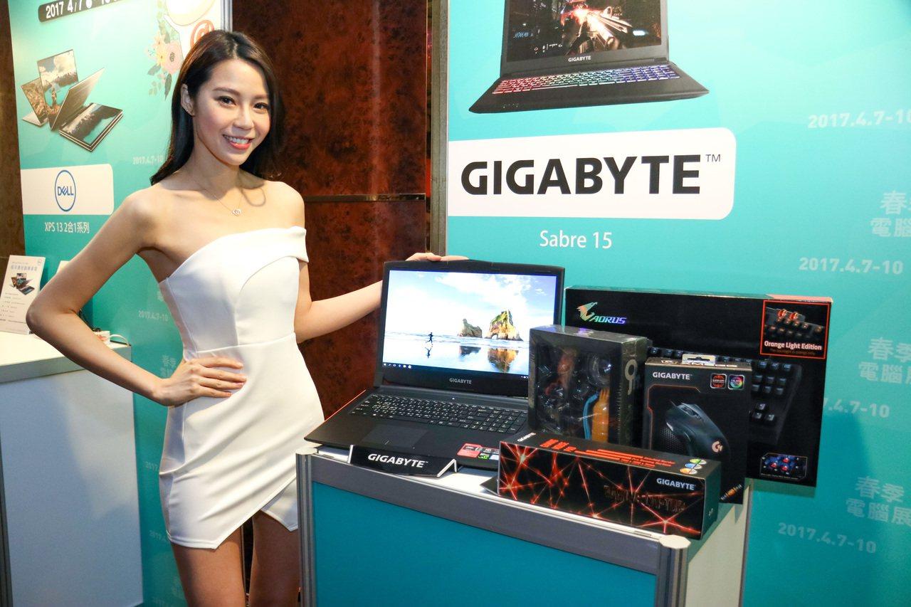 技嘉科技呼籲消費者儘快更新主機板BIOS。 聯合報系資料照(記者史榮恩/攝影)