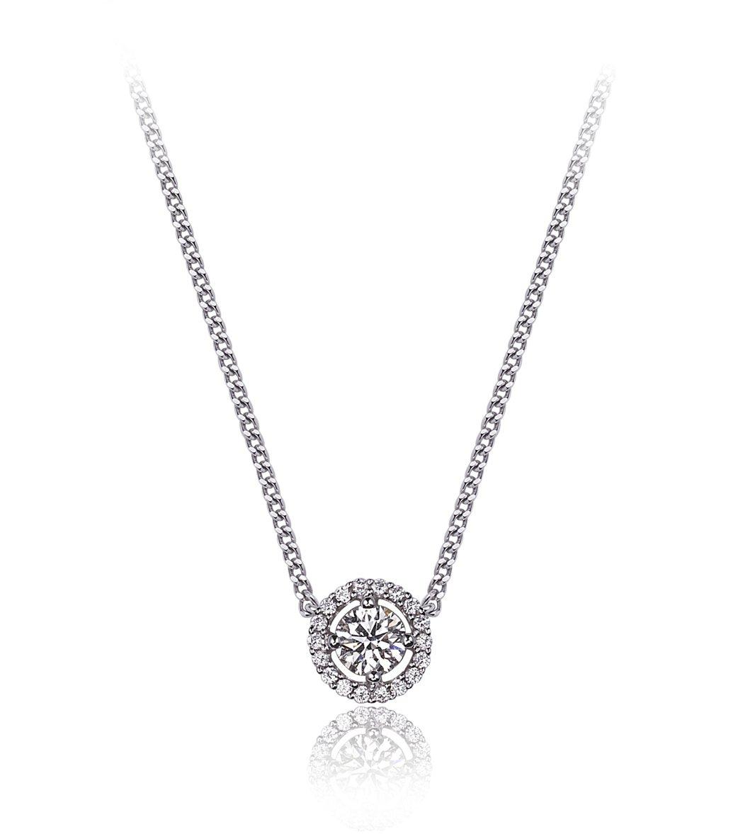 母親節限定Repertoire復古奢華美鑽項鍊,79,000 萬元起 。圖/HE...