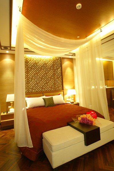 高雄不少精品汽車旅館充滿異國浪漫風情。 記者劉學聖/攝影
