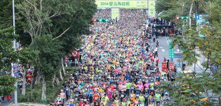 2016台北馬拉松 攝影/黃威彬