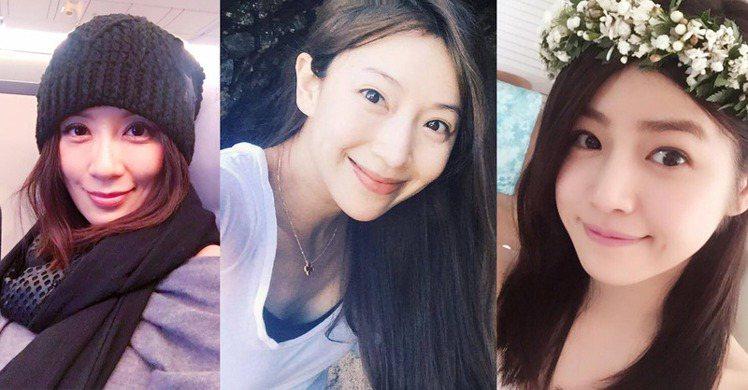 圖/賈靜雯fb , 隋棠粉絲團 , 陳妍希Facebook、Bella儂儂提供