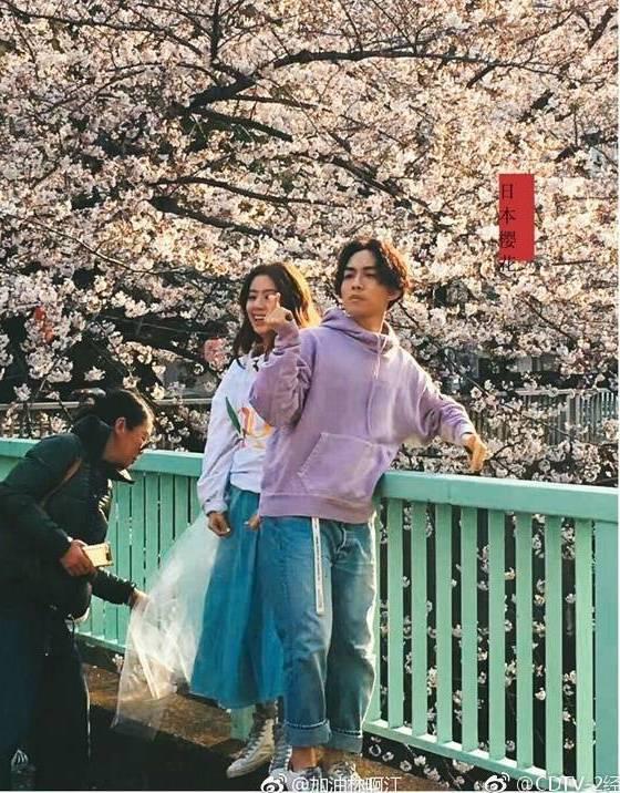 林宥嘉與丁文琪赴日拍婚紗照。圖/摘自微博