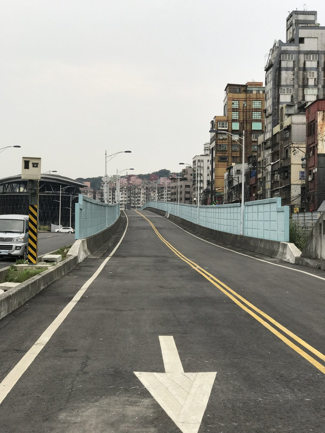 基隆港西岸高架道路4月16日要提前通車了。記者吳淑君/攝影