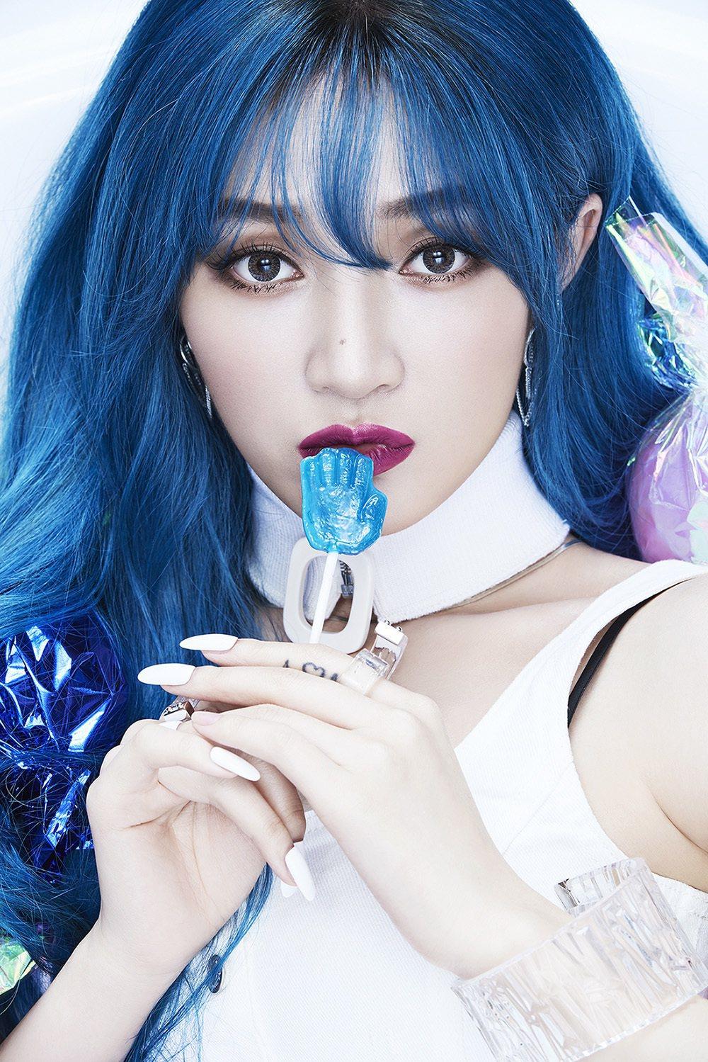 前韓女團Miss A成員的孟佳(JIA),5月來台發行個人首張EP。圖/香蕉娛樂...
