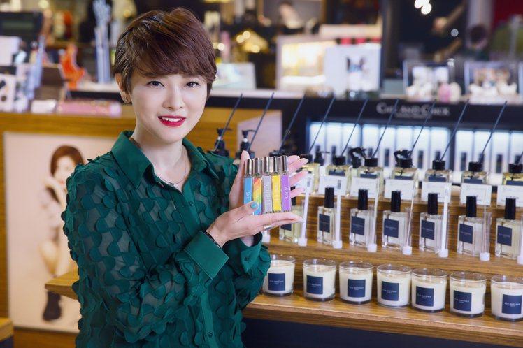河智苑親姊、CHIC & CHICK品牌創辦人田侑倞特別為台灣第3家專櫃開幕來台...