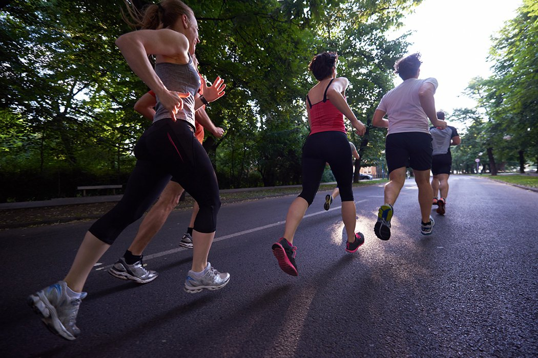 『跑步』有許多好處,更是任何年齡層都能夠做的一項運動。 圖片/ingimage