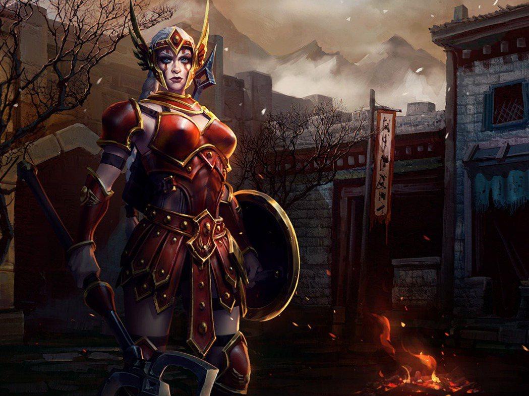 「亞馬遜戰爭仕女」卡西雅是名來自《暗黑破壞神》系列的刺客英雄。 圖/暴雪提供