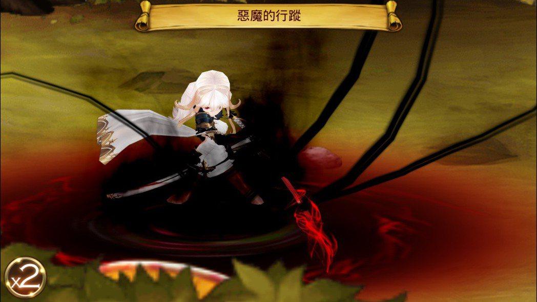 賽茵覺醒技能「惡魔的行蹤」。