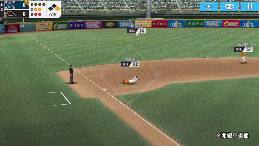 《棒球殿堂2017》將加入更為細膩、精緻的NICE PLAY和球員動作。