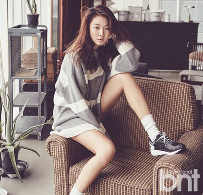 模特兒韓惠珍。圖/BNT提供