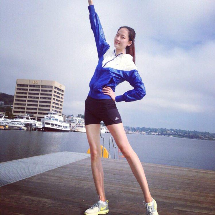 模特兒朴惠。圖/擷自instagram