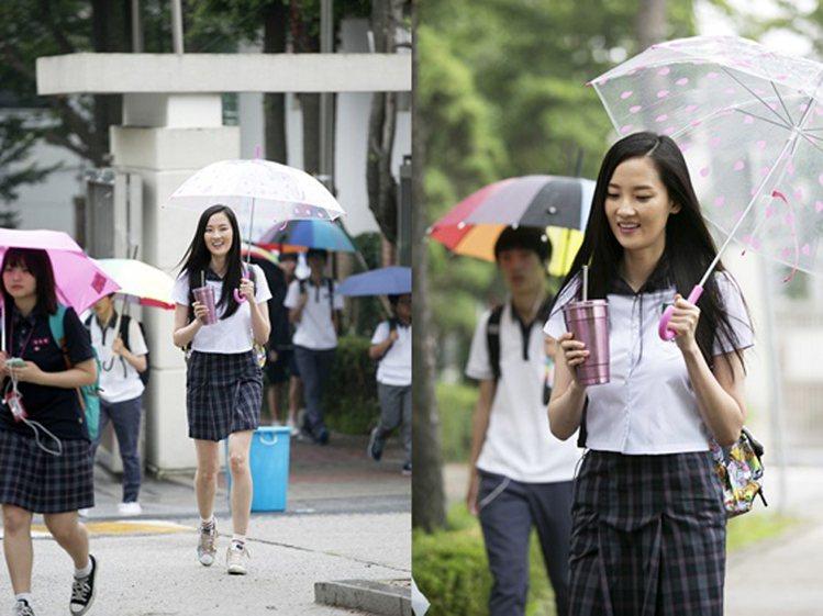朴惠曾參與韓國綜藝節目《我去上學啦》一展大剌剌的親民態度。圖/擷自微博