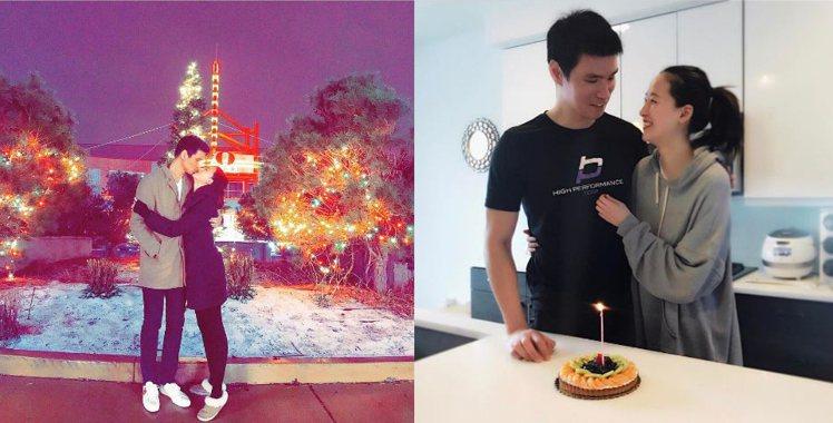 朴惠除了演藝事業,愛情也甜蜜蜜,時常可以在社群網站上看到他與老公的放閃照。圖/擷...