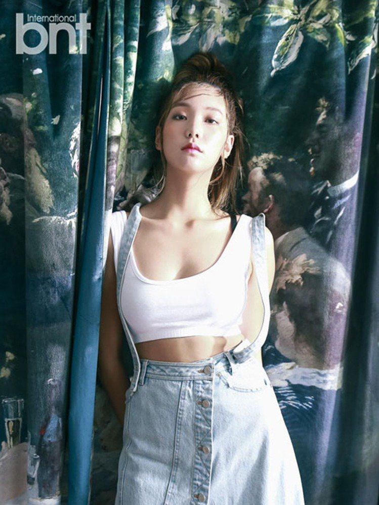 模特兒李皓京。圖/BNT提供