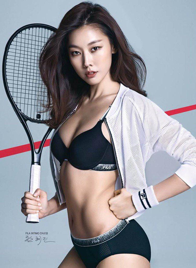 韓惠珍有著100分的好身材。圖/擷自微博