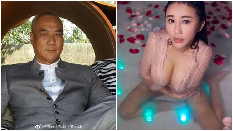 港星徐少強傳出與嫩模羅雲琦熱戀中。圖/摘自微博