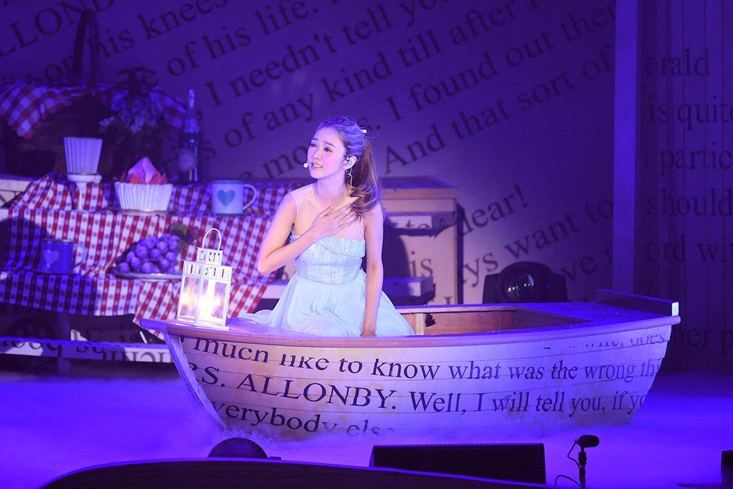 薛凱琪在香港舉行「夢之途中」演唱會。圖/太陽娛樂提供