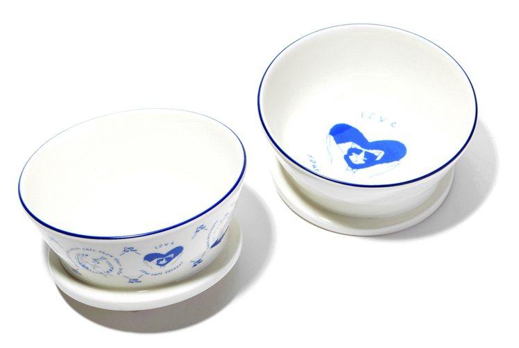 西點貓咪萬用碗,售價580元。圖/Afternoon Tea提供