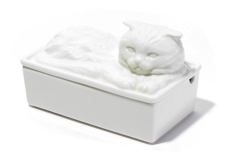 西點貓咪造型奶油盒,售價1,180元。圖/Afternoon Tea提供