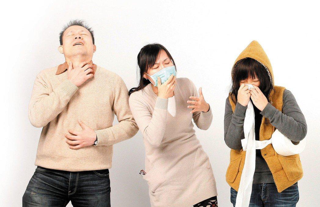 中醫師表示,乾咳可喝蜂蜜水或搭配薑清肺潤肺,非乾咳則不適用。 圖/本報資料照