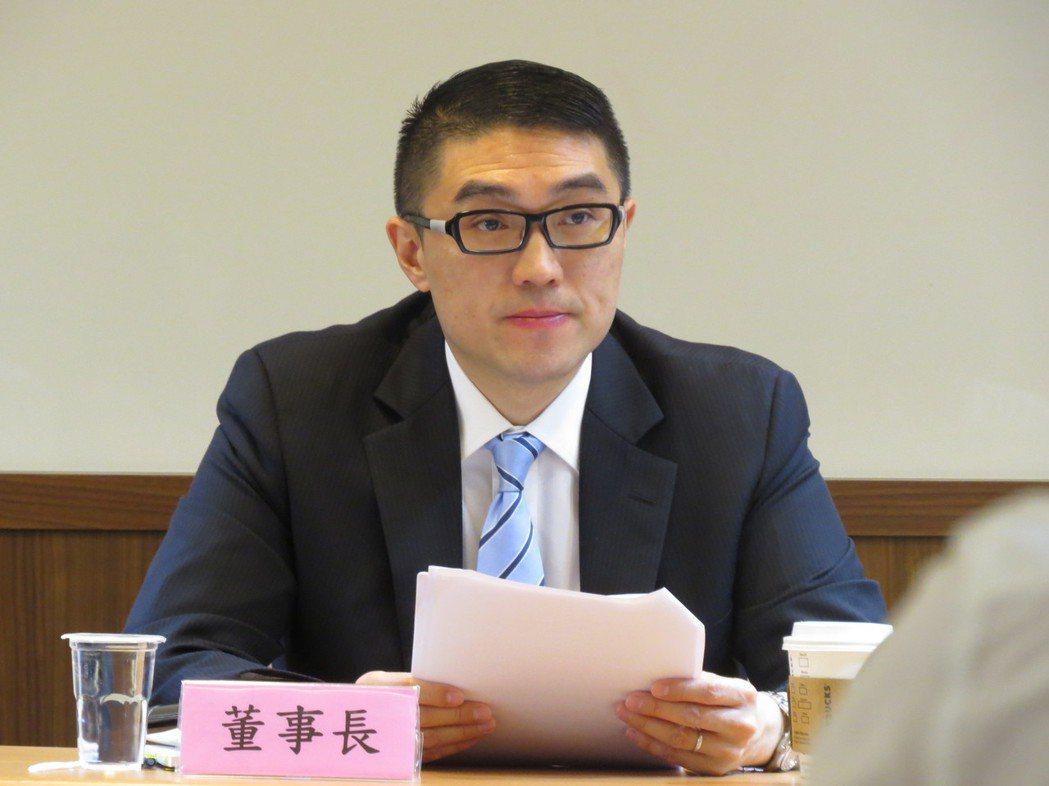 華聯國際多媒體董事長謝國樑。聯合報系記者何秀玲/攝影