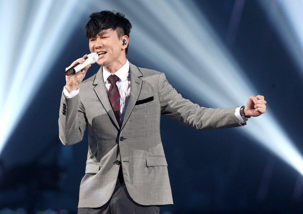 台灣歌手林俊傑。 報系資料照