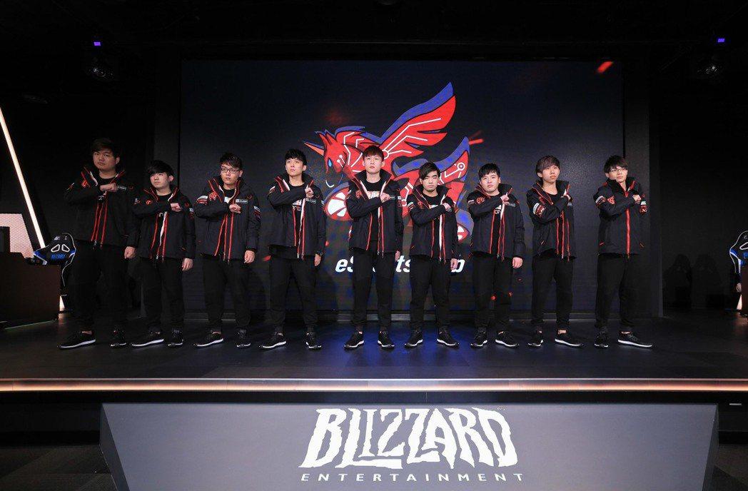 台灣戰隊ahq eSports Club