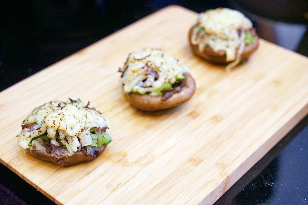 鮮蔬乳酪菇菇艇