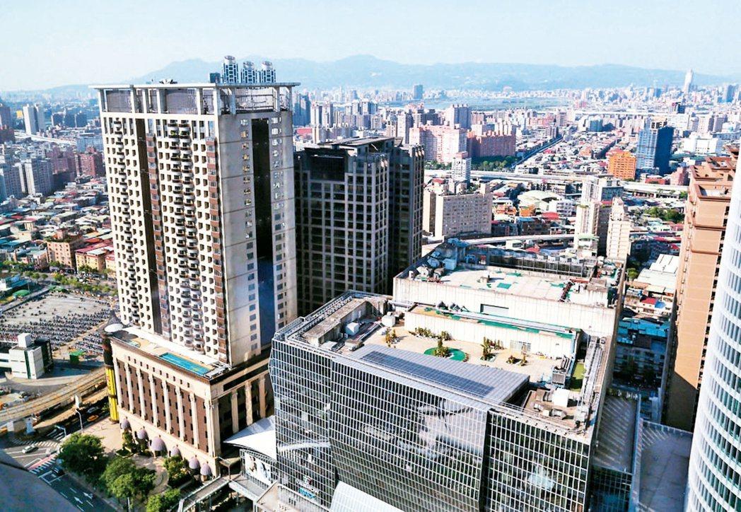 台灣房價持續下修。 聯合報系資料庫