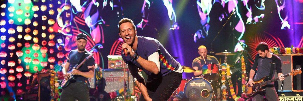 英國搖滾天團Coldplay(酷玩樂團)將在4月11日、12日在桃園高鐵站前廣場