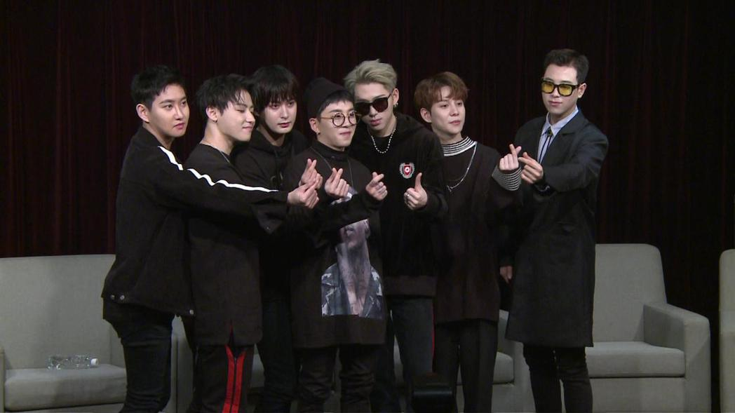 Block B將在今晚於台大體育館舉辦演唱會。記者袁子梁/攝影