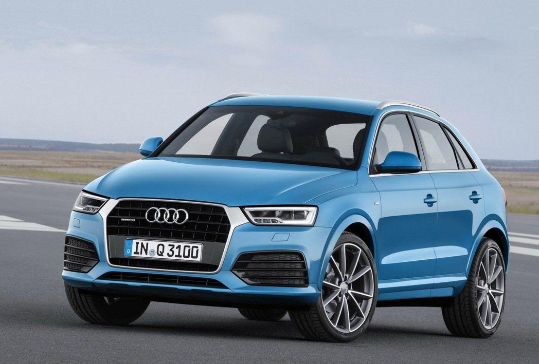 台灣奧迪推出New Audi Q3 TFSI全新車型,提供更加優惠的價格和更優質...