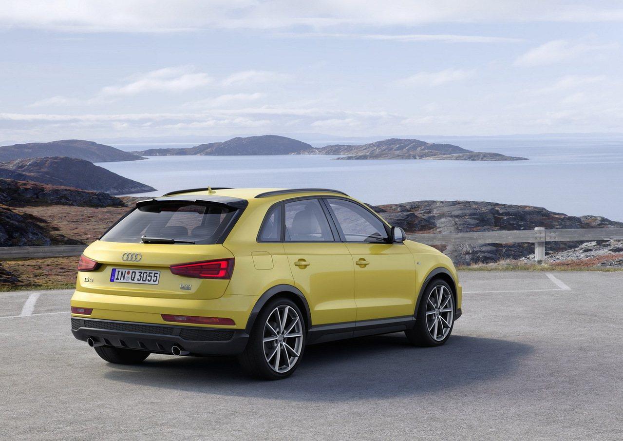 台灣奧迪針對旗下New Audi Q3 30 TFSI / 35 TFSI quattro款車型,增加價值最高可達17萬元的升級配備。 圖/台灣奧迪提供