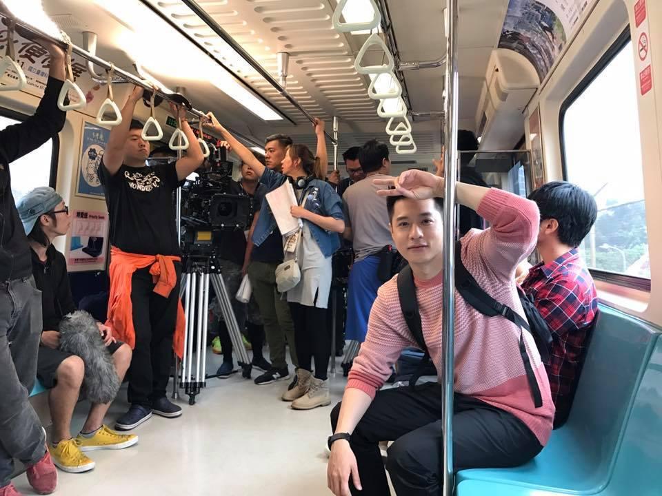 周湯豪擔任2017捷運盃捷客街舞大賽代言人。圖/摘自臉書