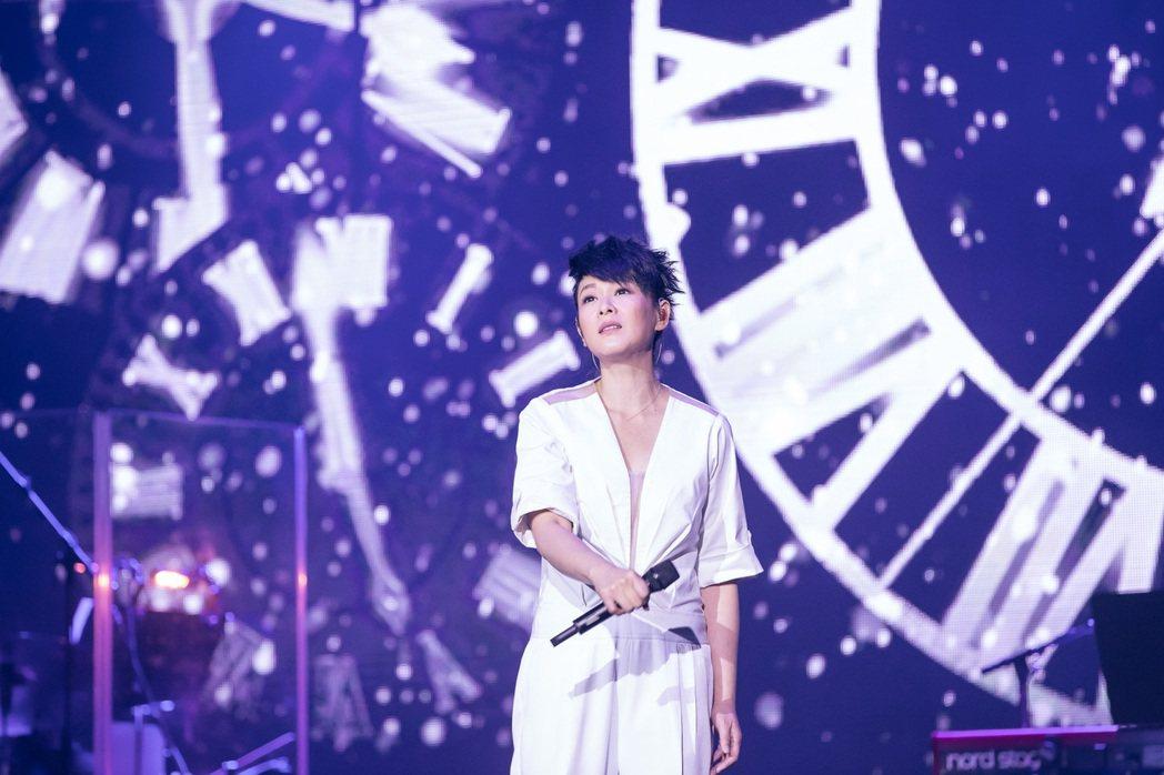 劉若英在澳洲開唱。圖/相信提供