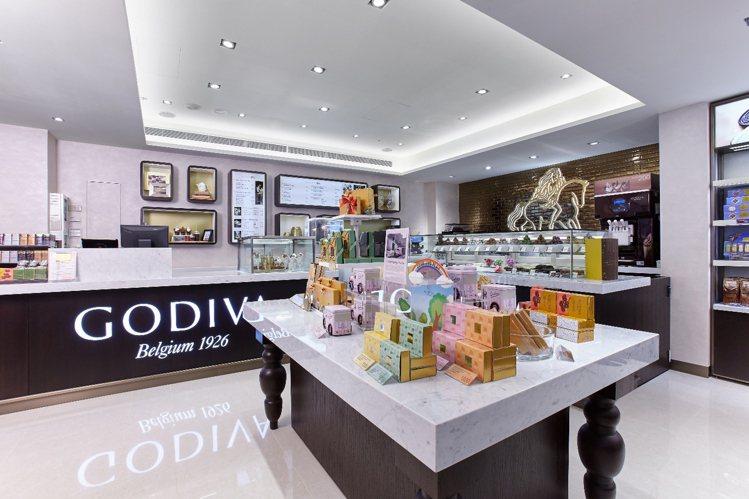 GODIVA生活形象店內除了可以外帶,還提供內用服務。圖/GODIVA提供