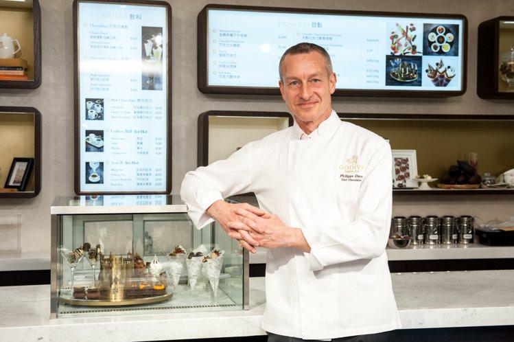 由主廚Philippe親自擔任GODIVA生活形象店商品開發。圖/GODIVA提...