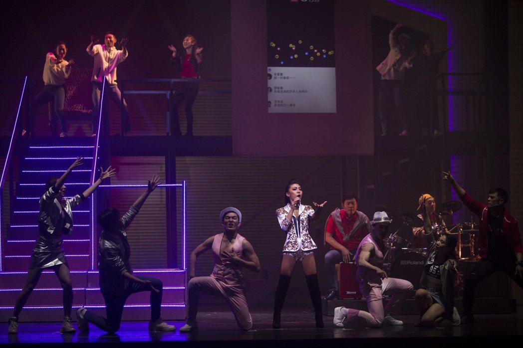 艾怡良登國家戲劇院演出舞台劇「愛呀,我的媽!」圖/索尼提供