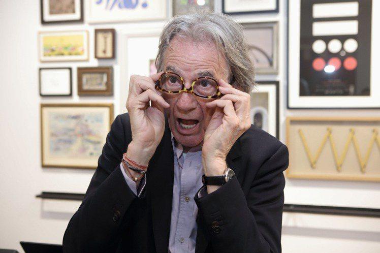 雖然已高齡70歲,但在Paul Smith身上很難看到任何疲憊與老態。圖/藍鐘提...