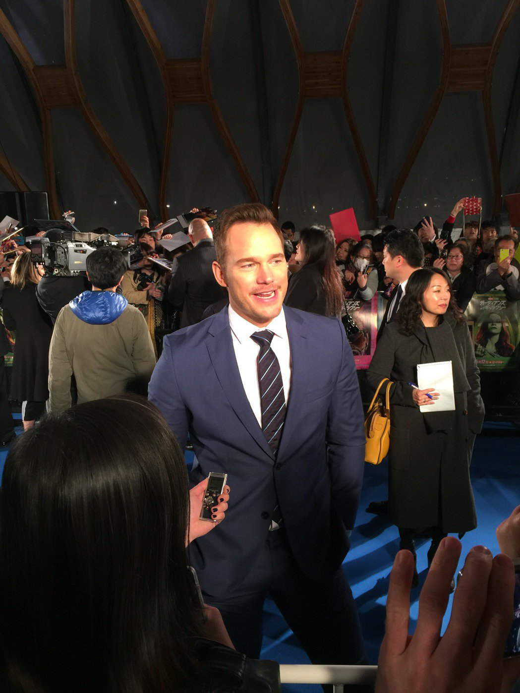 克里斯普萊特受到媒體與觀眾的歡迎。圖/迪士尼提供