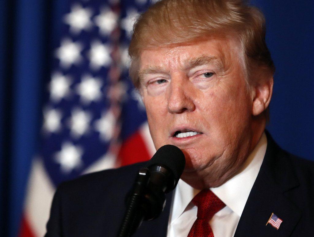 美國總統 Donald Trump 表示:「Toyota 投資 13 億於 Kentucky 工廠的決定,證明製造商們相信,在我的帶領下對美國經濟成長具有信心」 美聯社 提供