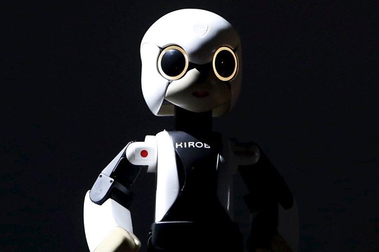 圖為日本機器人Kirobo。 圖/路透社