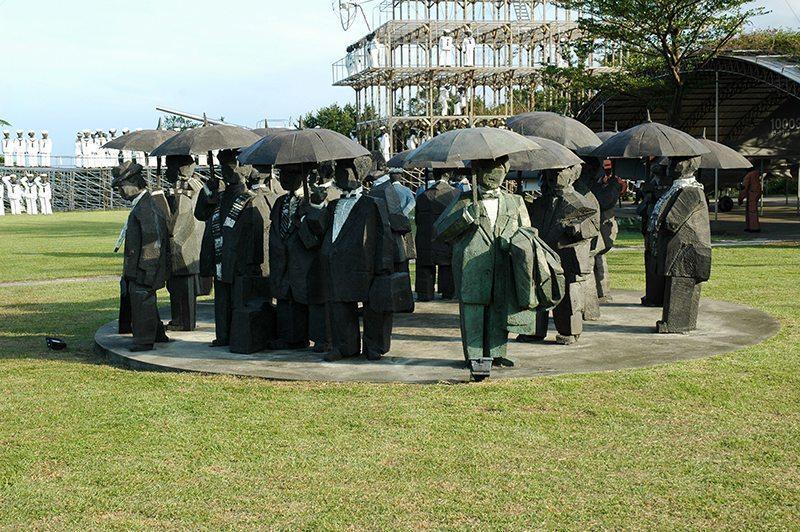 朱銘美術館以公園形式展示大師作品