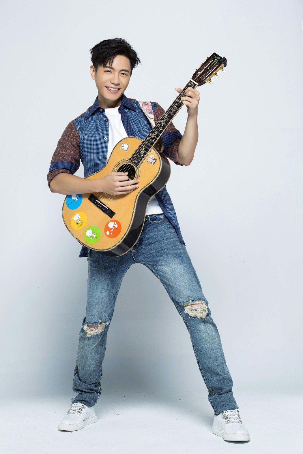 韋禮安為代言品牌創作森巴新曲。圖/福茂提供