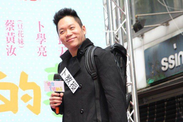 卜學亮接棒主持「在台灣的故事」。圖/本報資料照