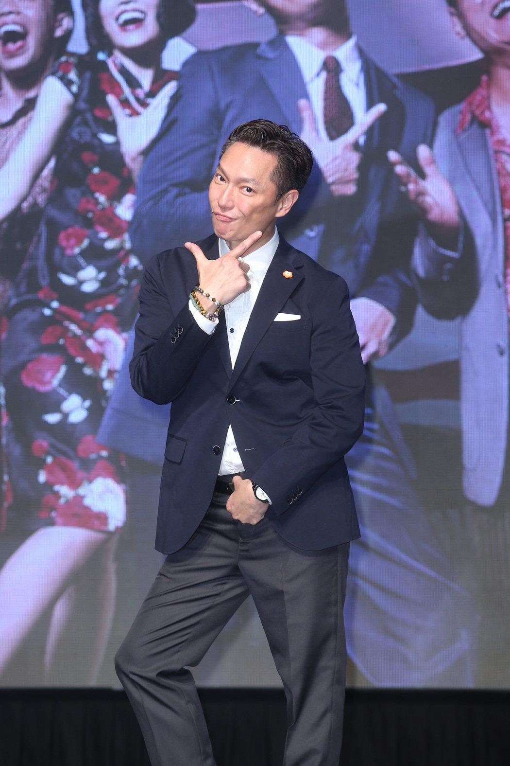 文化部《閱讀時光II》首映會,演員謝祖武出席。記者曾吉松/攝影