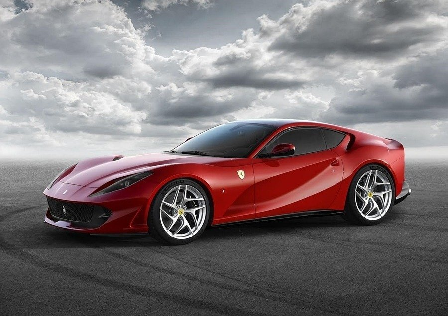 Ferrari 812 Superfast預計10月在台灣發表。 摘自Ferrari