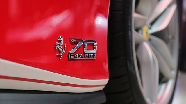 為了慶祝Ferrari 70週年,台灣蒙地拿也將展開精采活動。 Ferrari提...