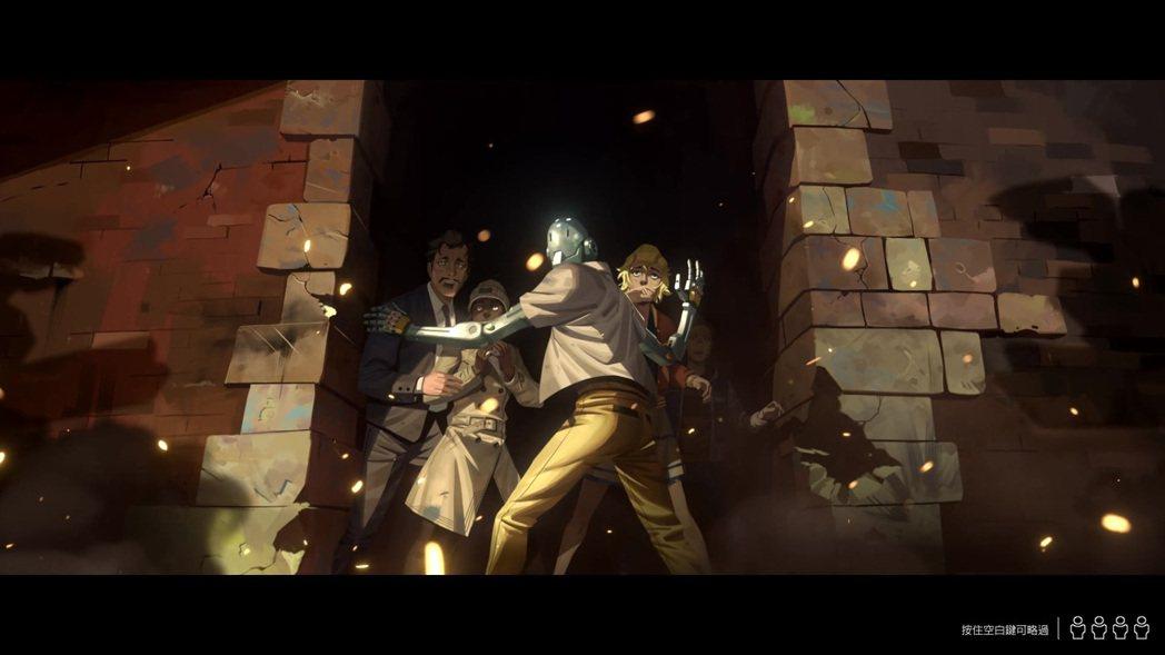 「零度叛亂」開頭動畫。