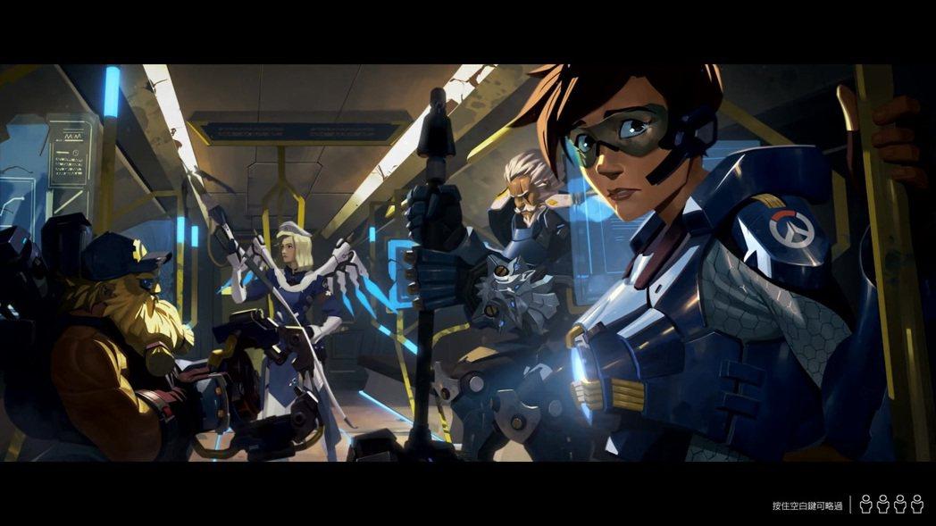 「零度叛亂」開頭動畫。 圖/遊戲畫面截圖